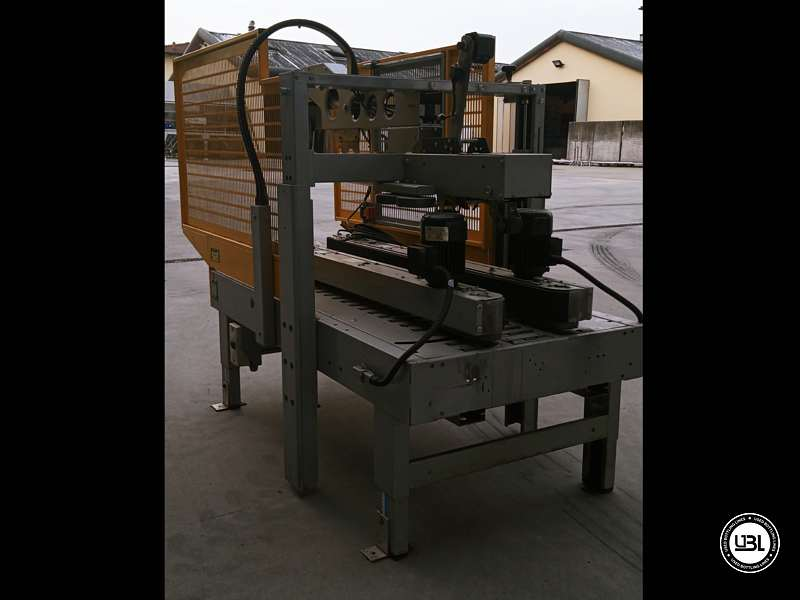 Used Case Sealer Siat SM11.P C for Adhesive tape 500 cartons/hour - 3