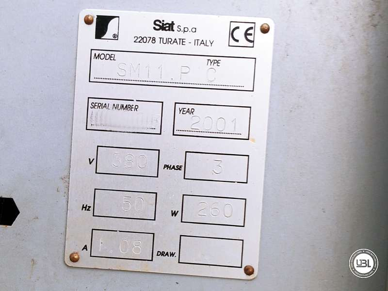 Used Case Sealer Siat SM11.P C for Adhesive tape 500 cartons/hour - 5