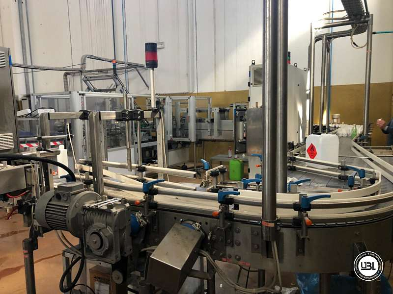 Used Hot Fill Complete Bottling Line for Glass 10000 bph - 12