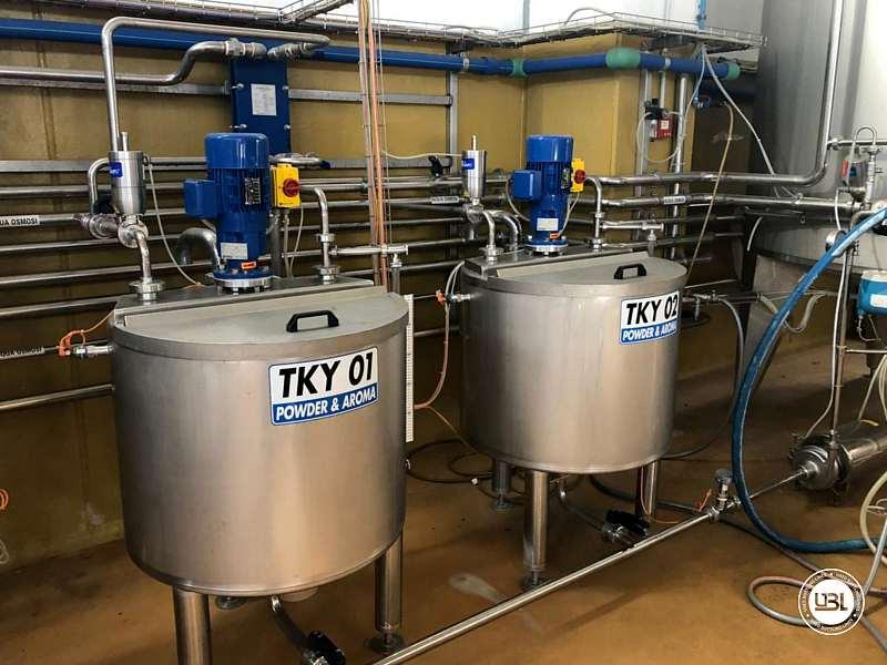 Used Hot Fill Complete Bottling Line for Glass 10000 bph - 23