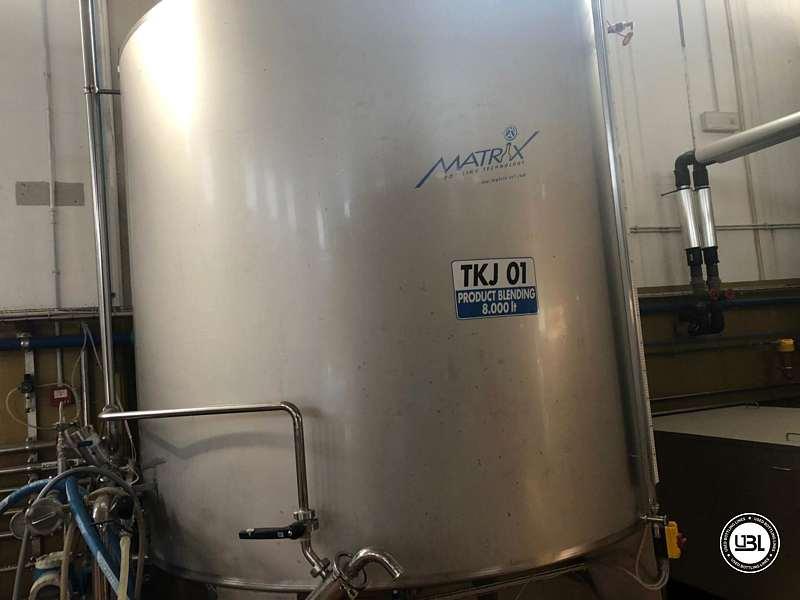 Used Hot Fill Complete Bottling Line for Glass 10000 bph - 25