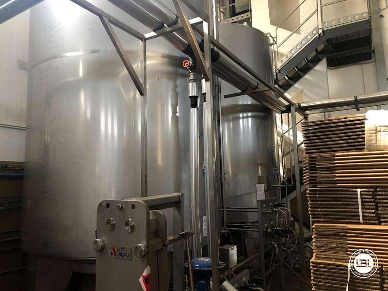 Used Hot Fill Complete Bottling Line for Glass 10000 bph - 27