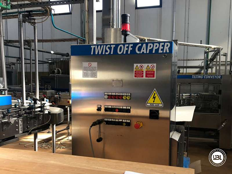 Used Hot Fill Complete Bottling Line for Glass 10000 bph - 5