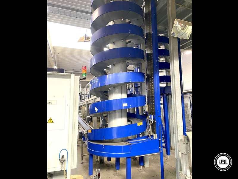 Línea Completa de PET usada para agua sin gas y bebidas carbonatadas – 26000 bph - 14