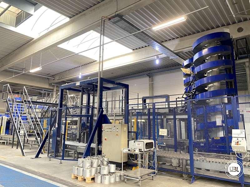 Línea Completa de PET usada para agua sin gas y bebidas carbonatadas – 26000 bph - 15