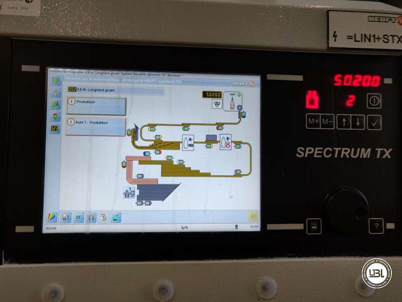 Used Empty Bottle Inspector Heuft EBI InLine IR year 2013 50000 bph - 7