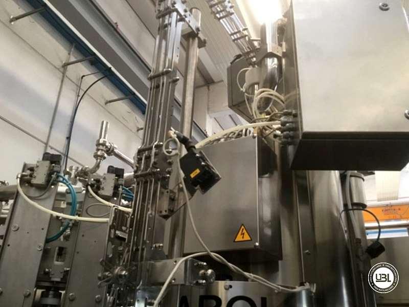 Used Hot Filling Triblock F&P Machinery Unica HF glass-PET 24.8.24.6 - 13