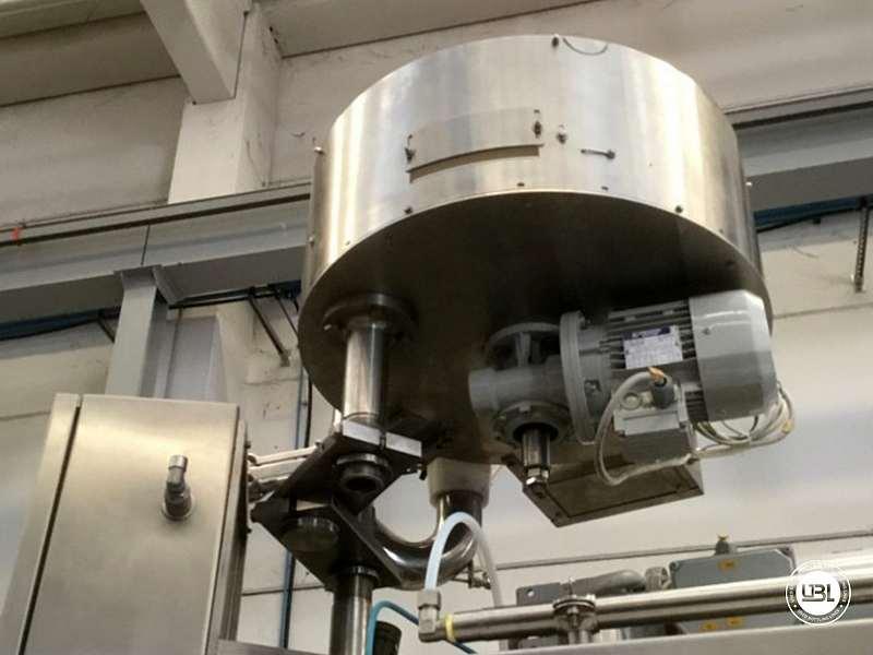 Tribloc de Remplissage à chaud d'occasion F&P Machinery Unica HF verre-PET 24.8.24.6 - 14