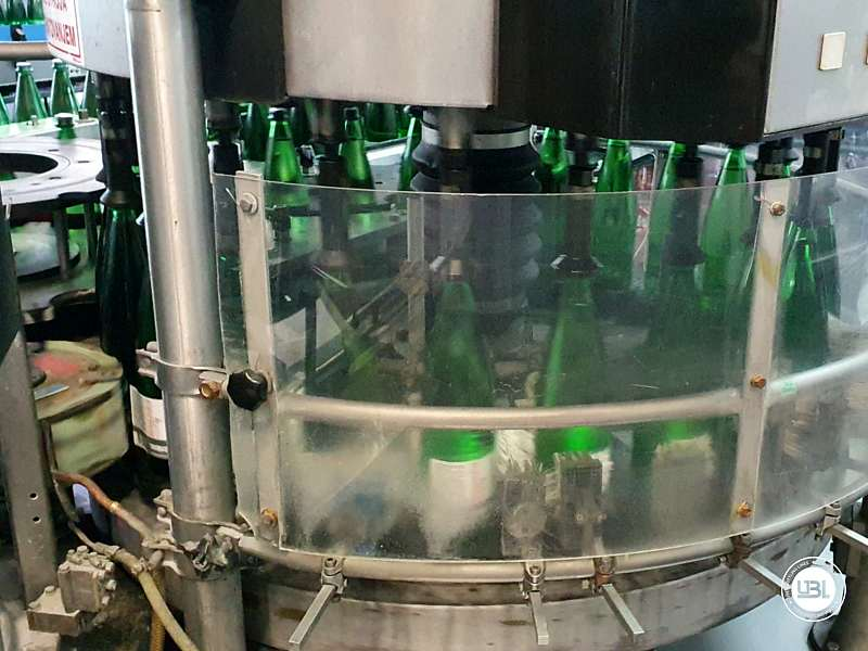 Used Complete Line for sparkling water glass 17000 bph - 21