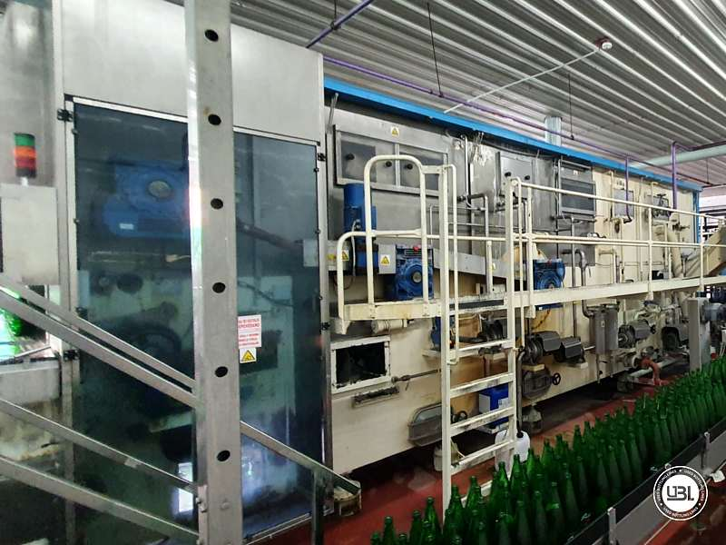 Used Complete Line for sparkling water glass 17000 bph - 8