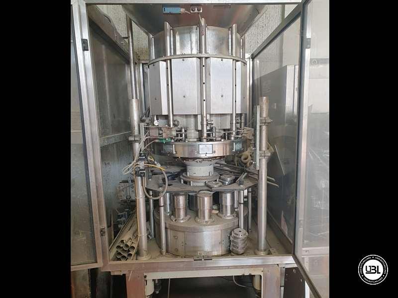 Used Capping Machine Bertolaso DELTA 509 R 9 heads 14500 bph Straight Cork - 1
