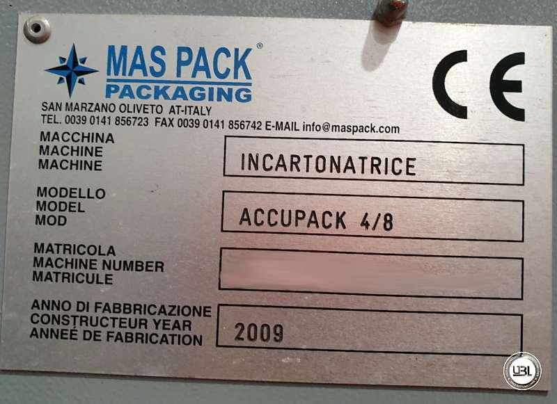 Incartonatrice usata Maspack ACCUPACK 4/8 year 2009 - 4