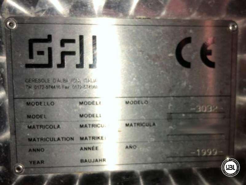 Triblocco di Riempimento usato GAI 12.16.1.1. 16 ugelli anno 1999 – 2500 bph - 3