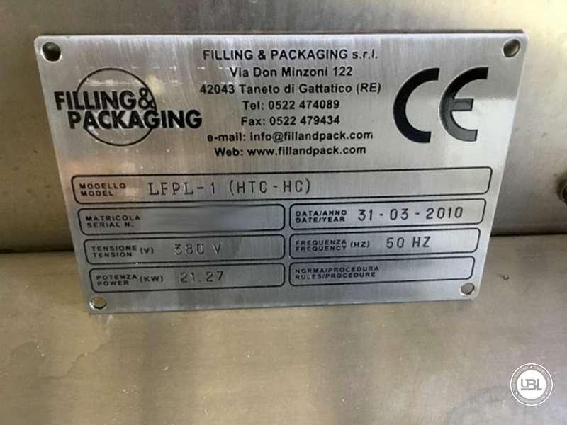 Unité de chauffage/refroidissement F&P Machinery LFPL-1 (HTC-HC) d'occasion année 2010 - 23