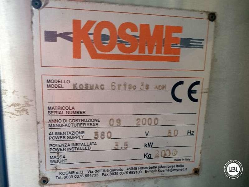 Used Bottle Labeler Kosme Kosmac 6r1s3s ADH year 2000 – 3000 bph - 8