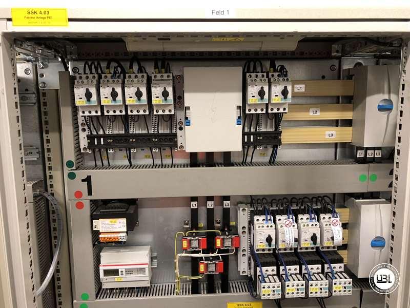 Pasteurizador usado Krones Sander-Hansen 40000 bph - 16
