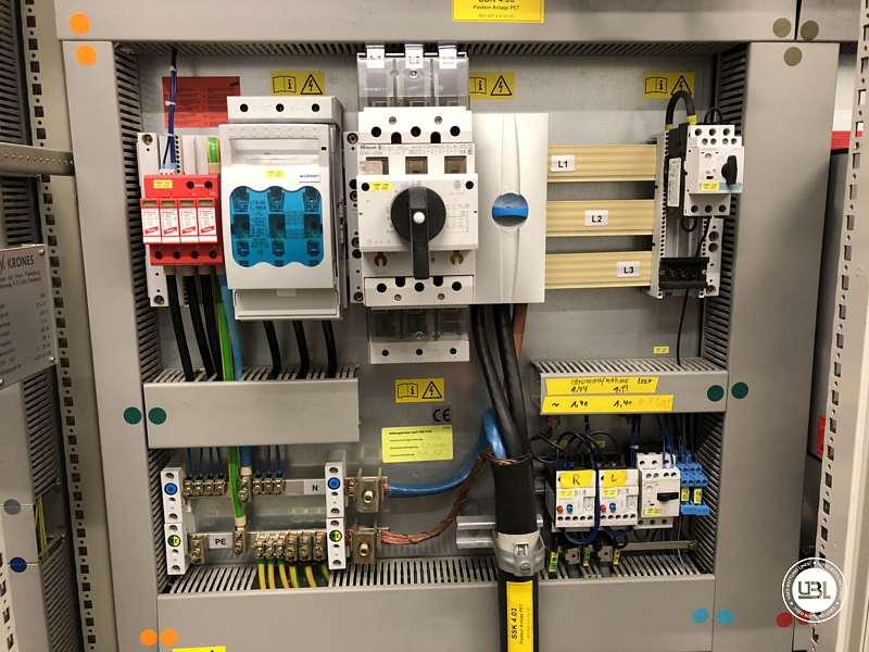 Pasteurizador usado Krones Sander-Hansen 40000 bph - 18