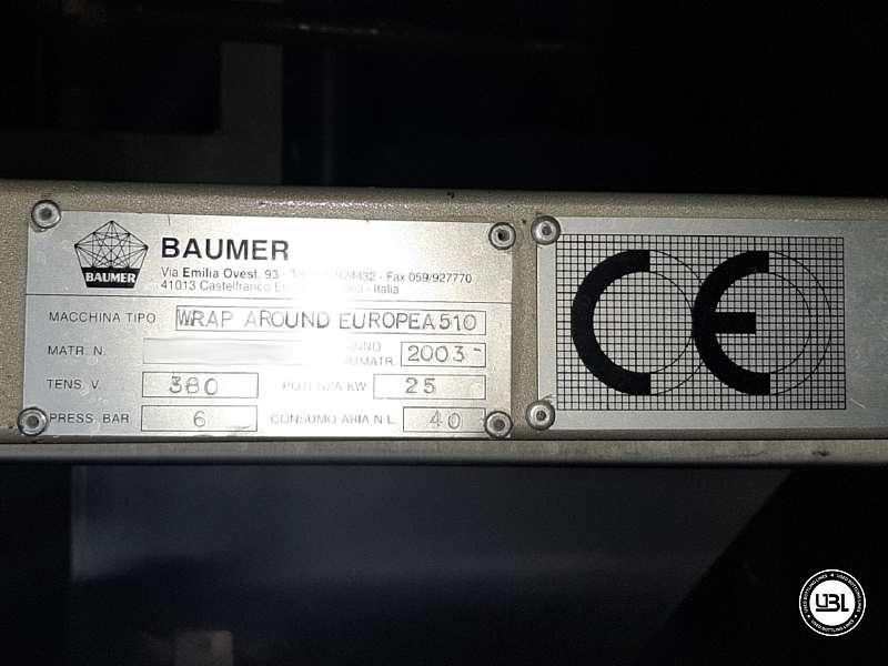 Wrap Around Baumer Europea 510 avec séparateur Cosmopack d'occasion – 40 coups / minute - 8