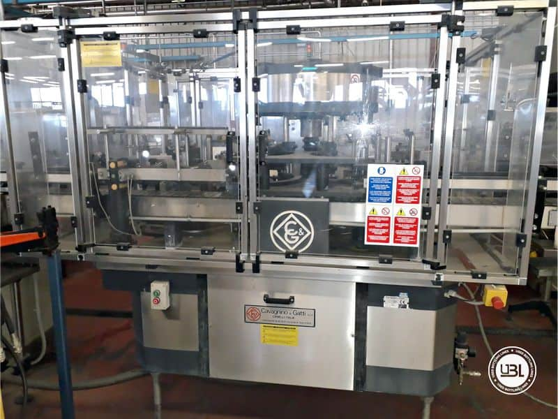 Used Bottling Complete Line Glass Bottles Carboy 3L 2000 bph - 11