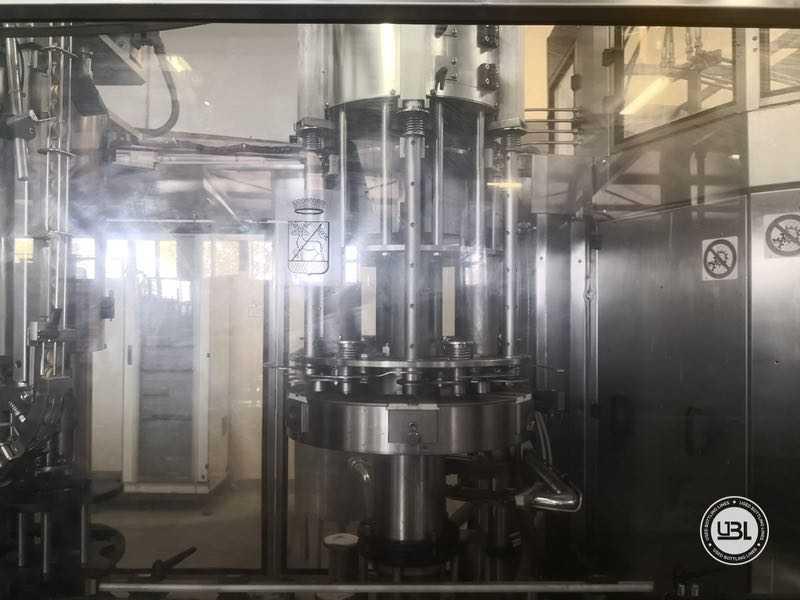 Triblocco di Riempimento Isobarico Usato MBF 32-48-6-5 8000 bph anno 2002 - 6