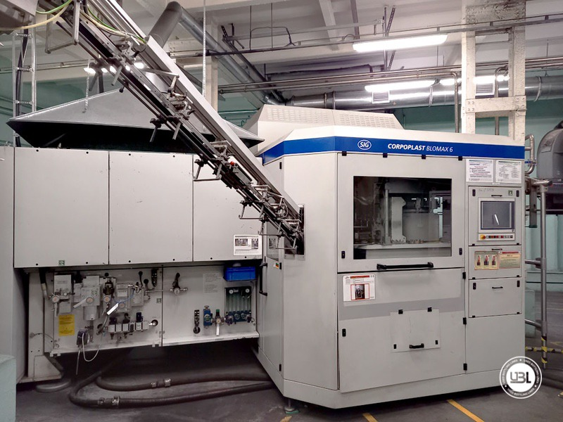 Used KHS Isobaric PET Filling Bottling Complete Line for Beer and Soft Drinks year 2007 up to 10.000 bph - 1