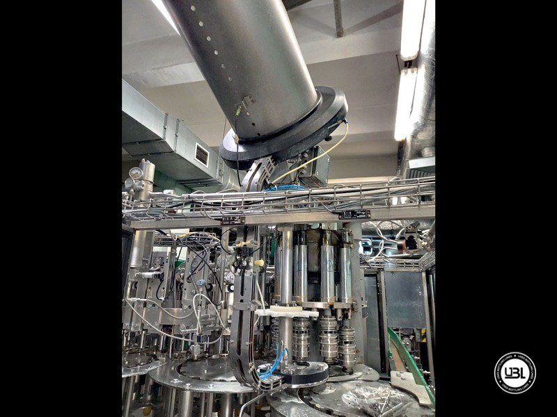 Used KHS Isobaric PET Filling Bottling Complete Line for Beer and Soft Drinks year 2007 up to 10.000 bph - 15