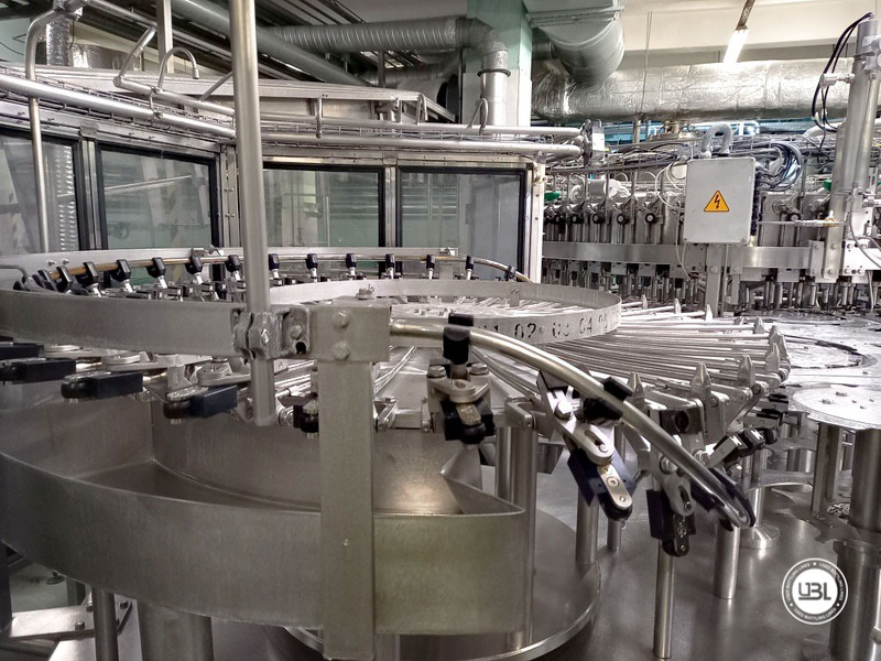 Used KHS Isobaric PET Filling Bottling Complete Line for Beer and Soft Drinks year 2007 up to 10.000 bph - 18