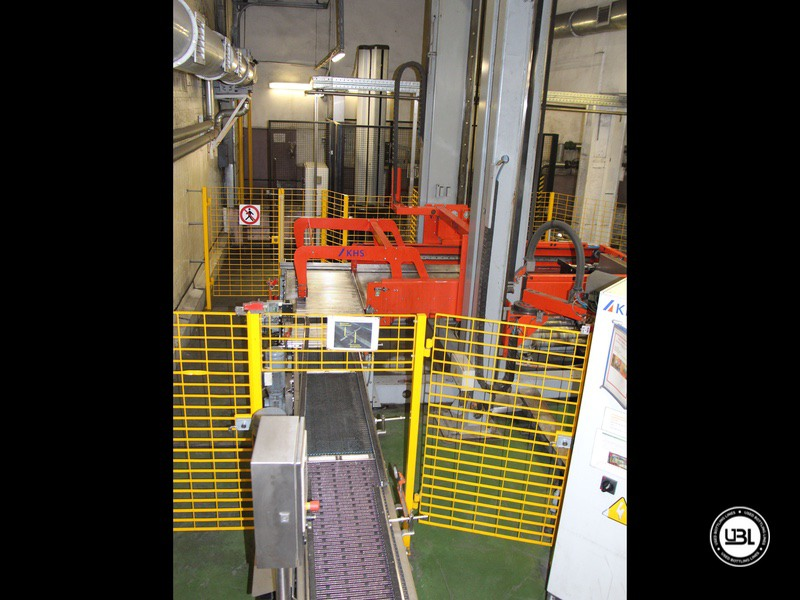 Used KHS Isobaric PET Filling Bottling Complete Line for Beer and Soft Drinks year 2007 up to 10.000 bph - 20