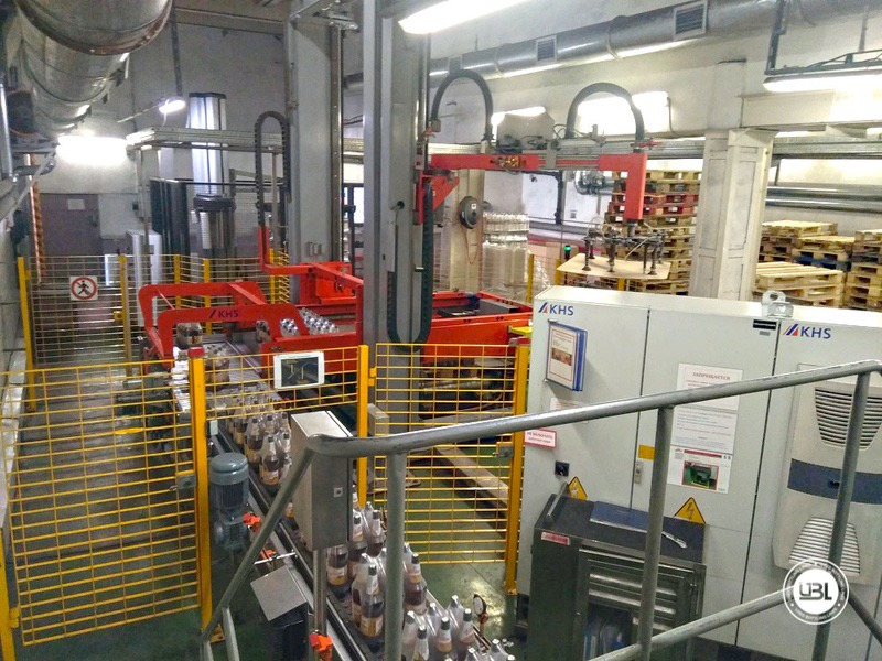 Used KHS Isobaric PET Filling Bottling Complete Line for Beer and Soft Drinks year 2007 up to 10.000 bph - 22