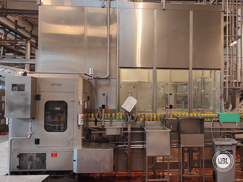 Used KHS Complete Bottling Line for cans 40.000 bph - 1