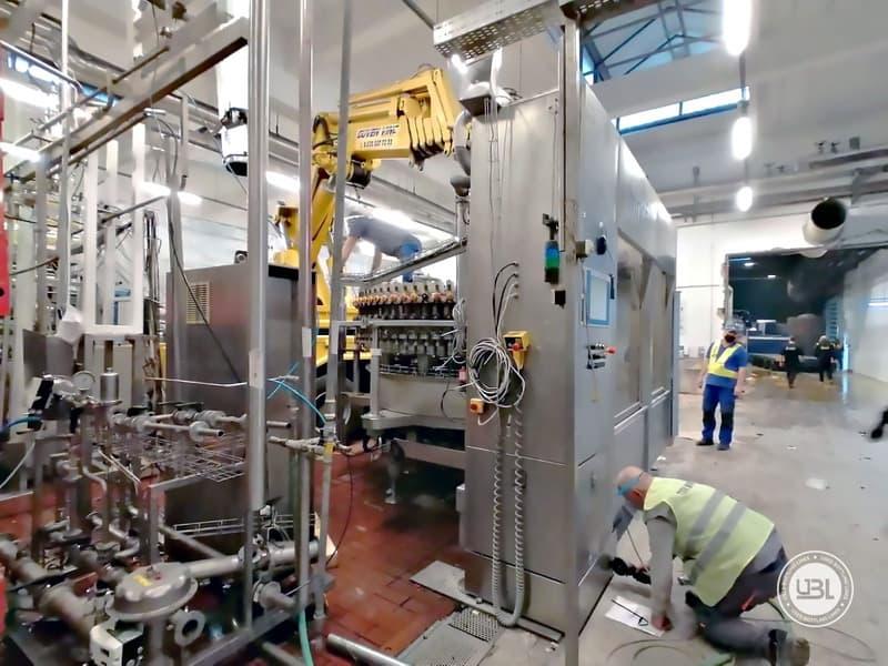 Used KHS Complete Bottling Line for cans 40.000 bph - 3
