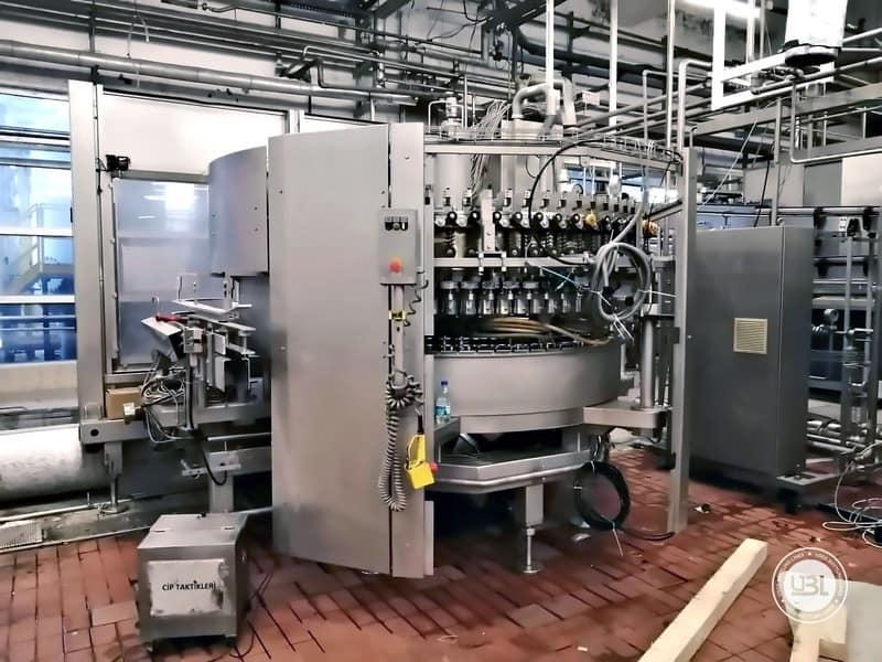 Used KHS Complete Bottling Line for cans 40.000 bph - 5
