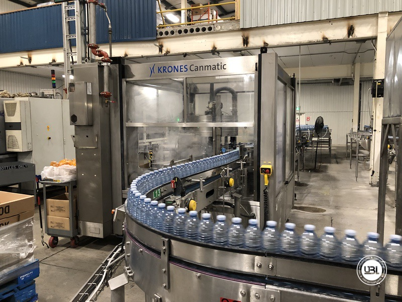 Used Sidel Complete Still Water Bottling Line 36.000 bph year 2005 - 11