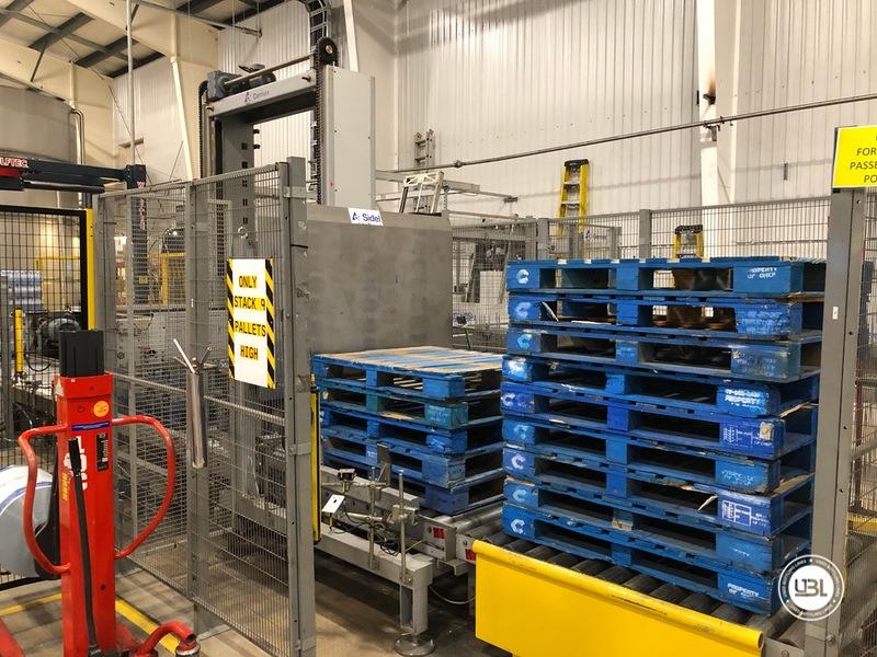 Used Sidel Complete Still Water Bottling Line 36.000 bph year 2005 - 29