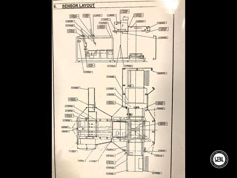 Used Sidel Complete Still Water Bottling Line 36.000 bph year 2005 - 36