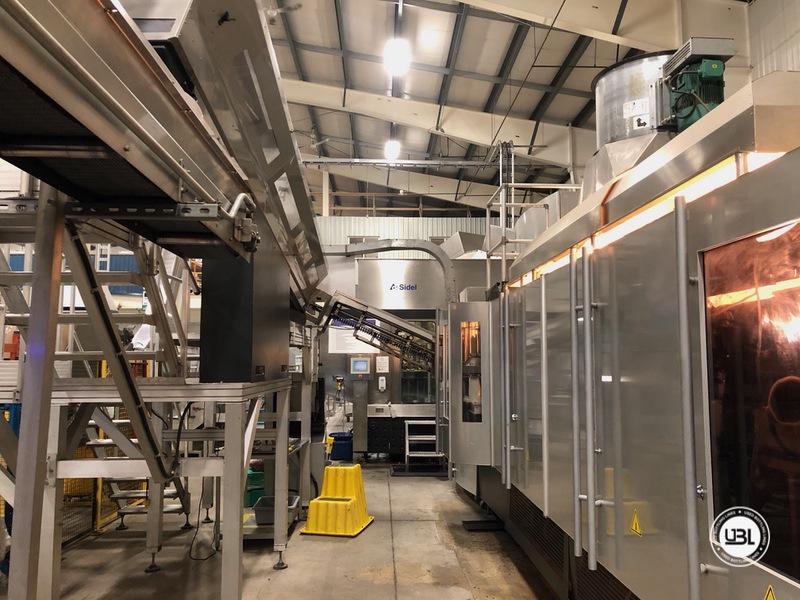 Used Sidel Complete Still Water Bottling Line 36.000 bph year 2005 - 4