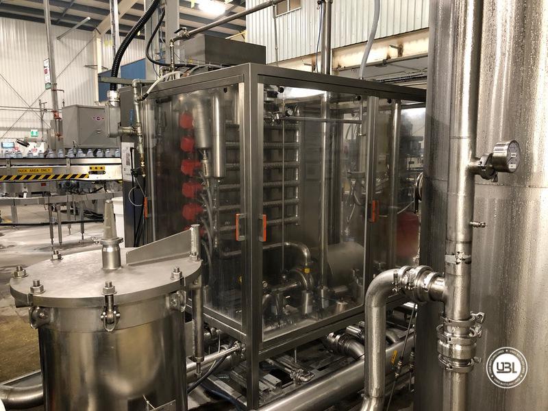 Used Sidel Complete Still Water Bottling Line 36.000 bph year 2005 - 7
