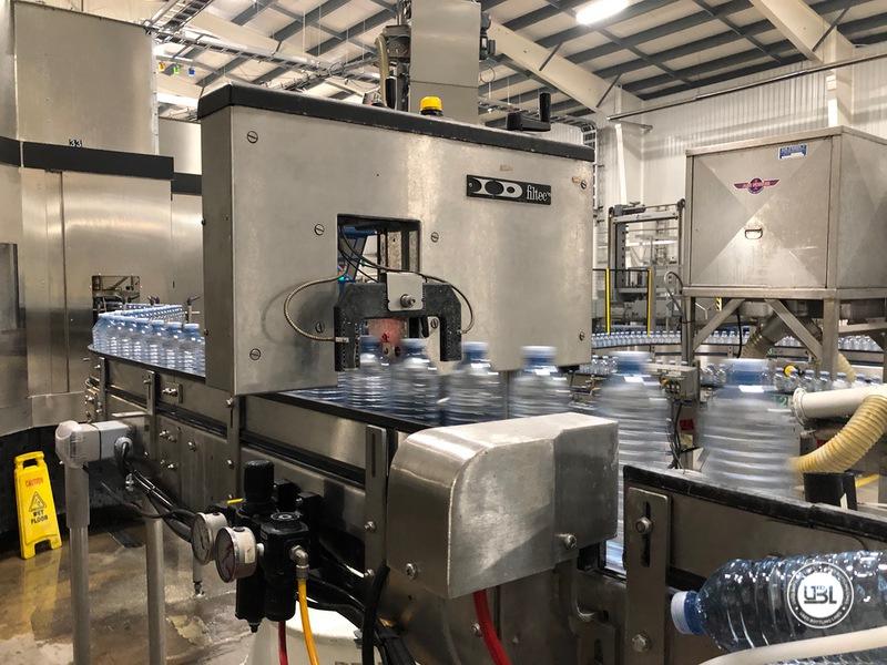 Used Sidel Complete Still Water Bottling Line 36.000 bph year 2005 - 9