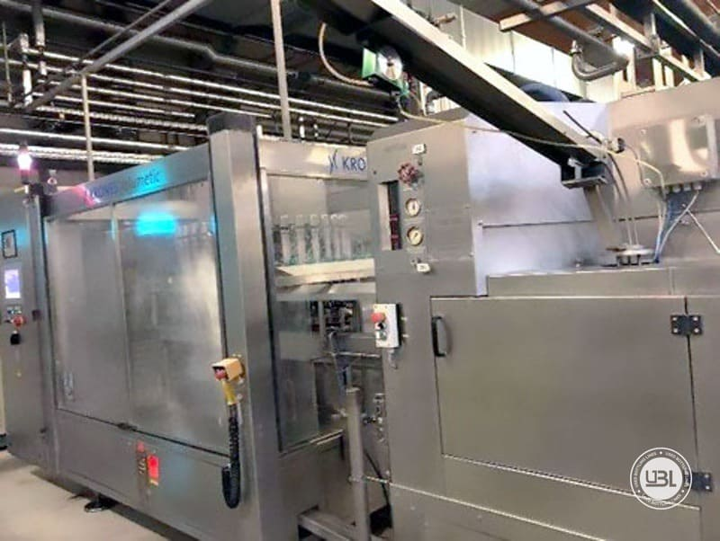 Used Bottling Complete Line for Beer Soft and Flat Drinks Cans up to 24000 cph - 4
