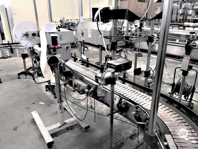 Paletizadora / Envolvedora de Paletas Automática Usado Keber año 2002 10.000 bph - 5