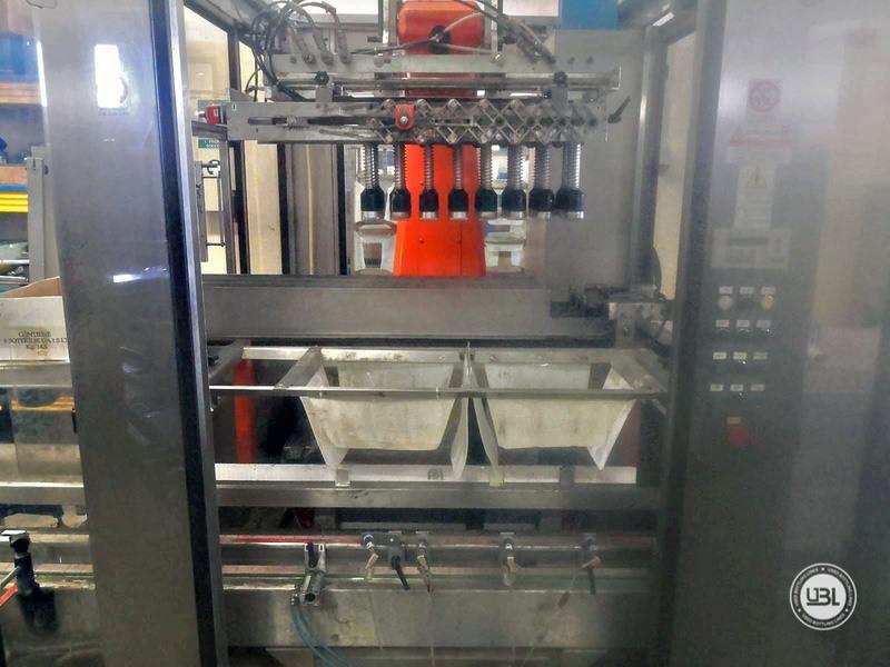 Incartonatrice automatica usata Keber Combipack M 2T 8000 bph anno 2002 - 9