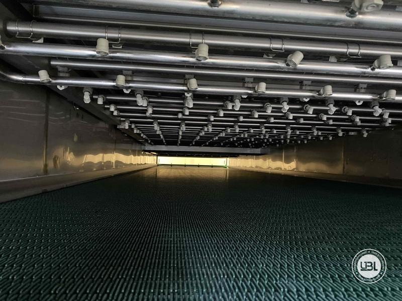 Tunnel Pasteurizer ESV Spennes d'occasion année 2011 10.000 bph PET Verre - 10