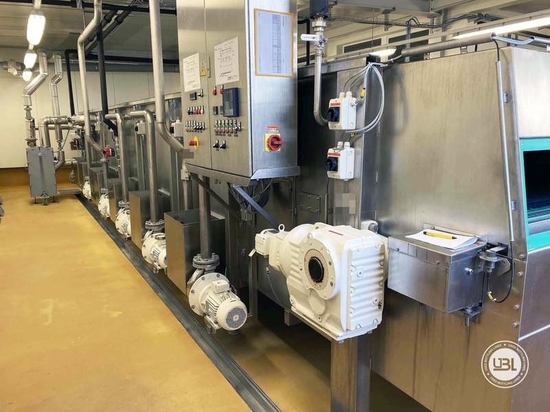 Tunnel Pasteurizer ESV Spennes d'occasion année 2011 10.000 bph PET Verre - 2
