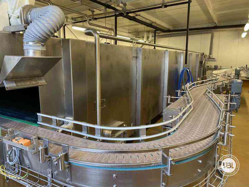 Tunnel Pasteurizer ESV Spennes d'occasion année 2011 10.000 bph PET Verre - 5