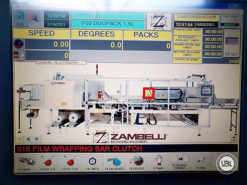 Used Shrink Wrapper Zambelli LFT 30 S/F - 4