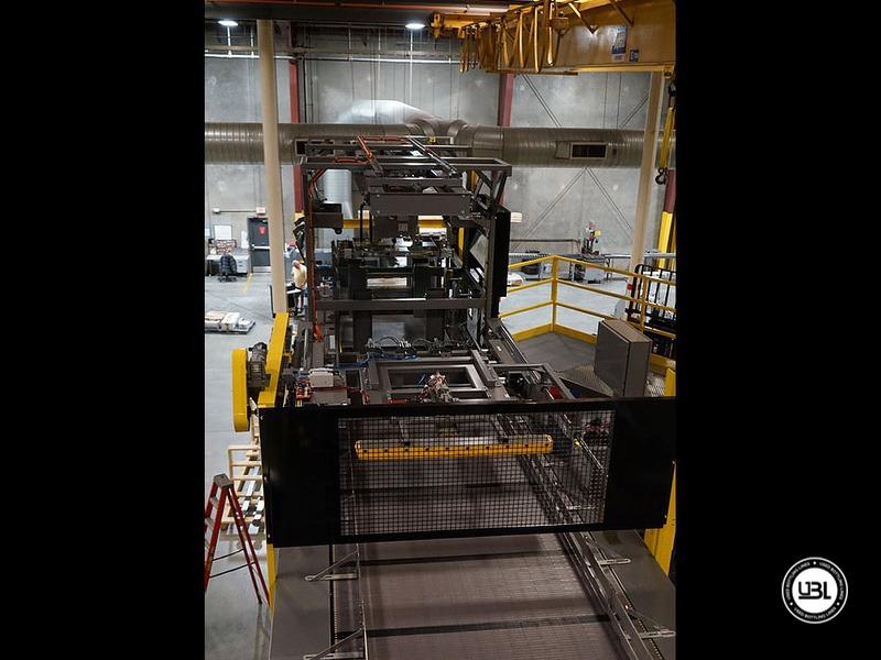 Depalettizzatore automatico alto livello usato Depalletizer Sentry fino a 60000 bph - 2