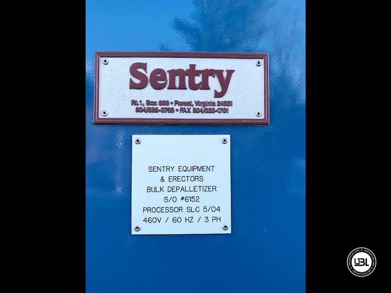 Depalettizzatore automatico alto livello usato Depalletizer Sentry fino a 60000 bph - 27