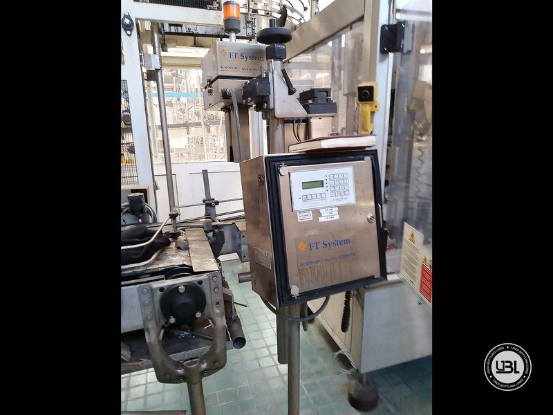 Used Automatic Capping Machine Arol Euro PK 8T Sport cap 16000 bph - 3