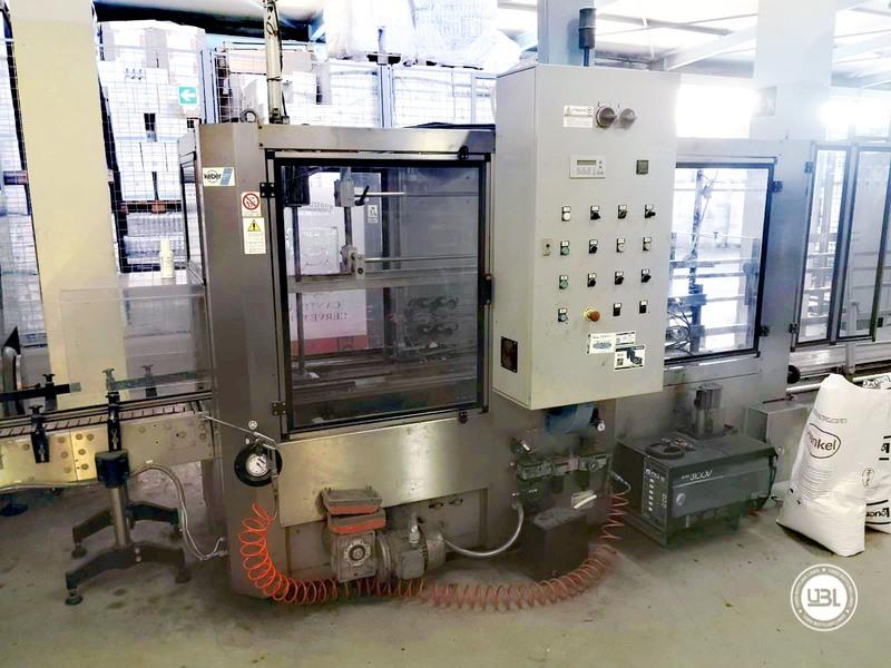 Chiudi cartoni automatico usato Keber Incolpack 1 SK 8000 bph anno 2002 - 1