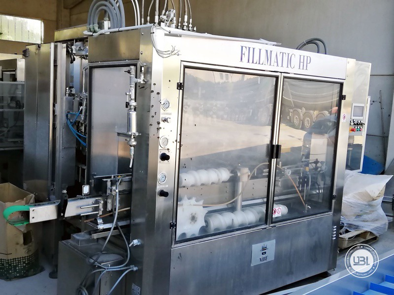 Used Isobaric Filling Machine MBF Fillmatic HP 45 valves 7000 bph - 1